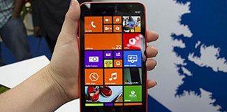Lumia 1320'nin Türkiye fiyatı