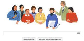 Google, Ertem Eğilmez'i unutmadı