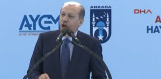 Erdoğan açılışta konuştu