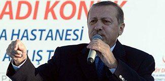 AKP pankartını indirtti
