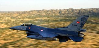 F-16'lar sınıra yönlendirildi