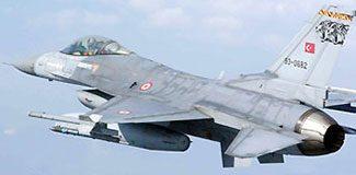 Türk F-16'ları alarma geçti!