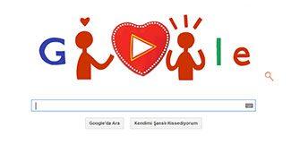 Google'dan 'Sevgililer Günü' için doodle