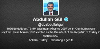 Gül'e bir tweeti'ini hatırlatıp veto istediler