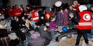 Humus'ta birkaç cesur insan