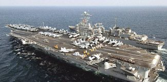 İran savaş gemileri ABD yolunda