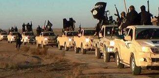 IŞİD konvoyuna saldırı: 8 ölü, 6 yaralı