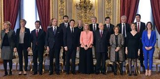 İtalya'da yeni hükümet kuruldu!