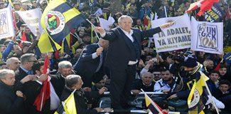 Fenerbahçeliler 'adalet' için yürüdü!