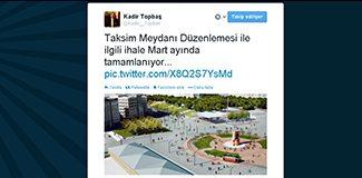 Kadir Topbaş'a göre Atatürk yok!