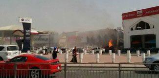 Katar'da Türk lokantasında patlama!