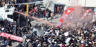 Ankara'da polis müdahalesi!
