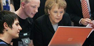 Merkel'den yeni ve bağımsız 'internet'