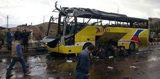 Turist otobüsüne saldırı: 4 ölü