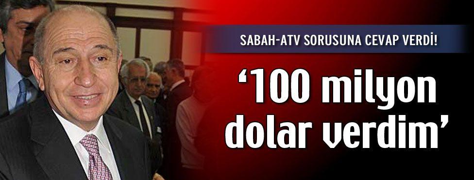 """""""Sabah-ATV için para verdim ama…"""""""