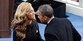 Obama ile Beyonce aşkı muhabirin şakasıymış!