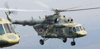 Rus helikopterleri Kırım'a girdi
