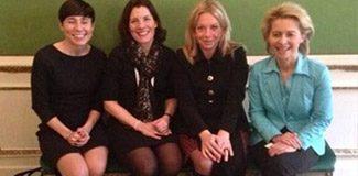 Avrupa'nın kadın savunma bakanları