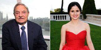 Eski sevgilisi, George Soros'a saldırdı