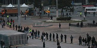 Polis, 'Gezi Parkı'nı kapattı!