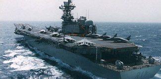 Türk uçak gemisi İsrail'i korkuttu