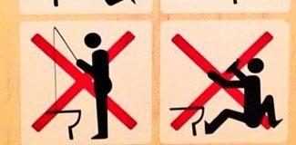 Soçi'de tuvalette balık tutmak yasak!