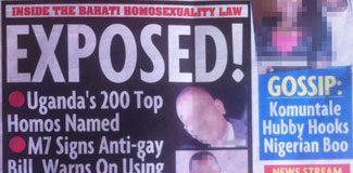 Gazetede 200 isimlik 'eşcinsel listesi'