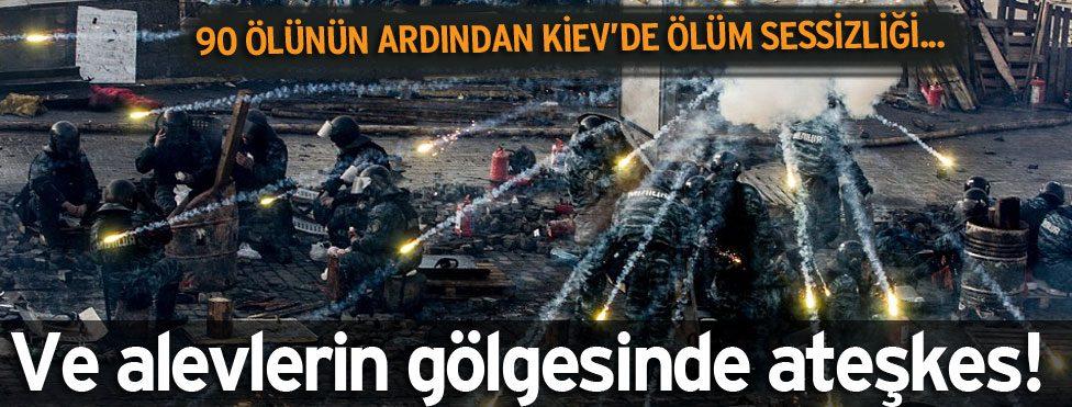 Ve Kiev'de 'sessiz' ateşkes