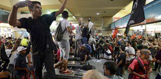 Ulaşım zammına dev protesto!