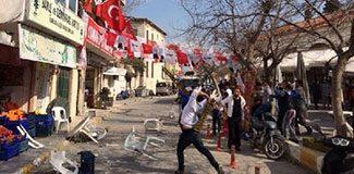 Urla'da HDP gerginliği