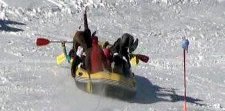 Vali rafting yaparsa!