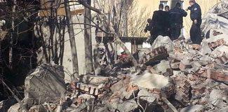 Ankara'da bina çöktü: 1 ölü!