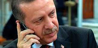 Erdoğan'ın telefon trafiği açıklandı!