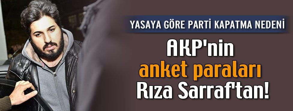 AKP'nin anket paraları Rıza Sarraf'tan!