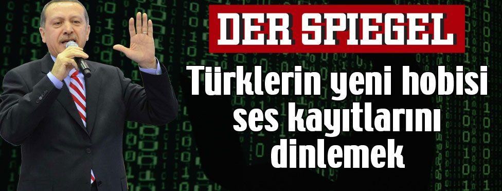 """""""Türklerin yeni hobisi gizli tapeleri dinlemek"""""""