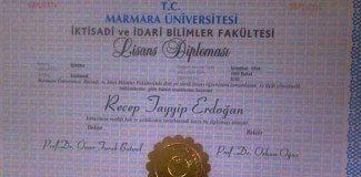 Erdoğan'ın diploması Meclis'te