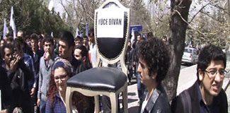 Ankara'da 'Cumhurbaşkanlığı' eylemi