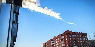 Rusya'ya meteor düştü