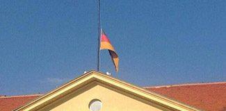 Almanya'da Soma için bayraklar yarıda