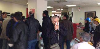 CHP binasına baskın: 4 gözaltı!