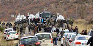 Diyarbakır-Bingöl karayolunda çatışma