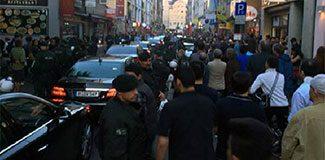 Başbakan Yardımcısı'na Köln'de protesto