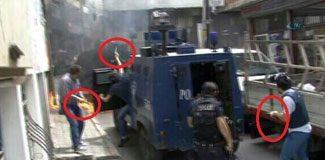 Silahı ateşleyen o polis mi?