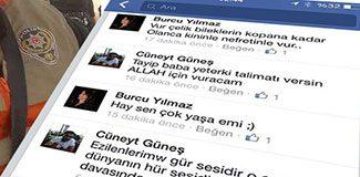 Facebook'ta kan donduran AKP'li-Polis yazışması!
