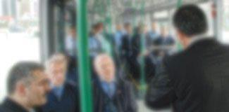 Otobüste Selfie dayağı!