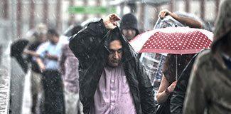 Yağmur kapıda