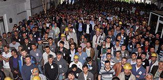 Zonguldak'ta madenciler iş bıraktı