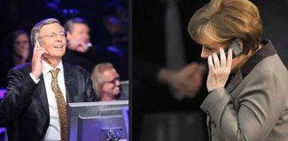 Merkel 'telefon jokeri' olarak arandı