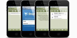 iPhone kamerasıyla Dropbox kurun