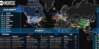 İşte Hacker haritası